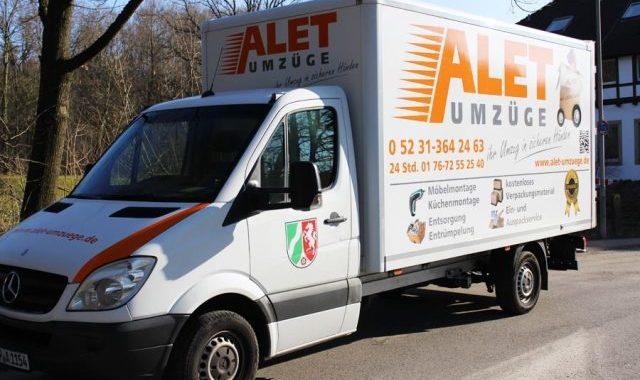 Alet Umzüge - Ihre Umzugsfirma In Detmold